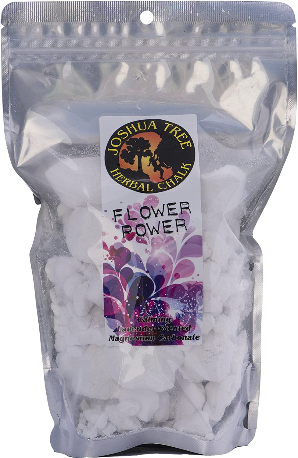 Joshua Tree Scented Herbal Loose Chalk for Climbing and Gymnastics - Flower Power
