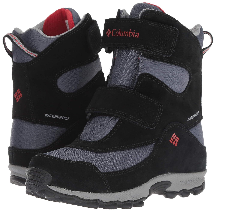 Columbia Kids Youth Parkers Peak Velcro Waterproof Winter Boot Snow