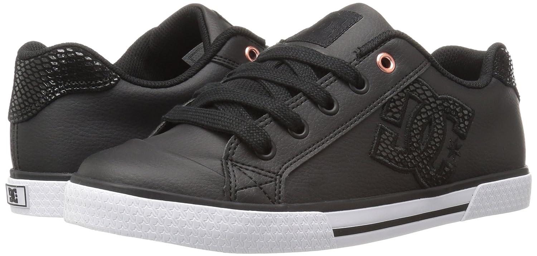 Black Black//Aqua US 13.5 // UK 12.5 // EU 31 US 13.5 Girls 8-16 Shoes DC Shoes Girls Shoes Chelsea Se