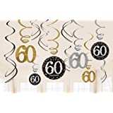 Sparkling Celebration 60 Hanging Swirls