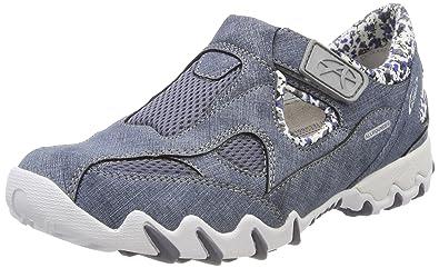 c4a04bf4ec189b Allrounder by Mephisto Nana, Sneakers Basses Femme, Bleu (Teal), 36.5 EU