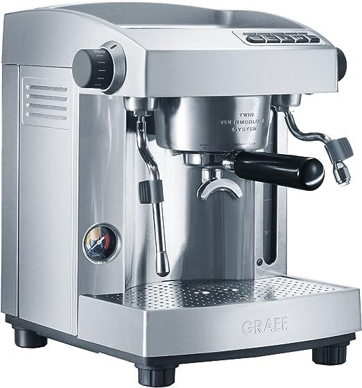 Graef ES 90, 2200/2400 W, 220-240 MB/s, 50 Hz, 330 x 330 x 370 mm, 11200 g - Máquina de café: Amazon.es: Hogar