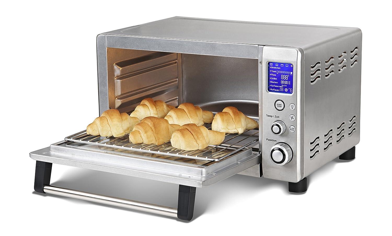 Silva-Homeline MB 1180 Backofen/Edelstahl / 36.1 cm/Umluft-Funktion/Elektro / Freistehend Profi-Bäcker