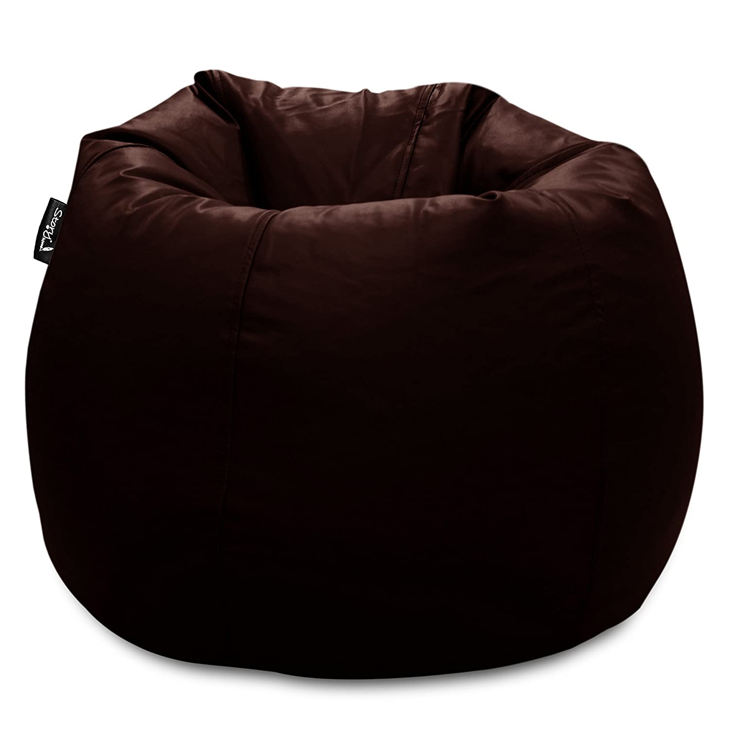 Story@Home XL Bean Chair without Beans (Chocolate Brown)