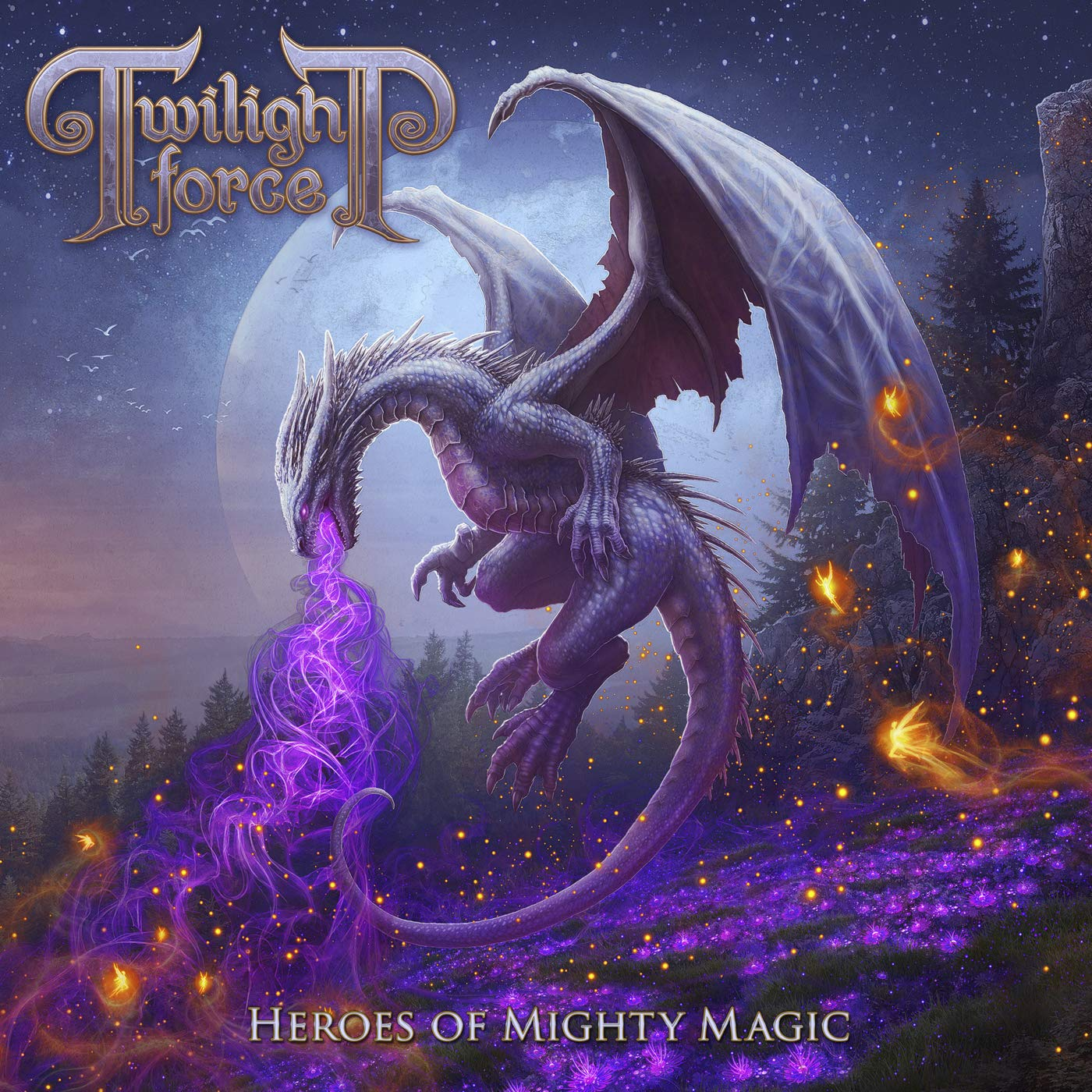 CD : Twilight Force - Heroes Of Mighty Magic
