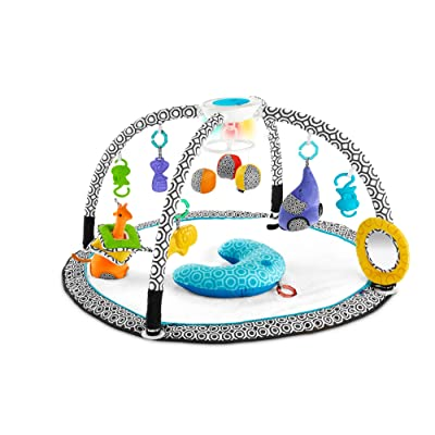 Fisher-Price Jonathan Adler Sensory Gym, Black/White : Baby