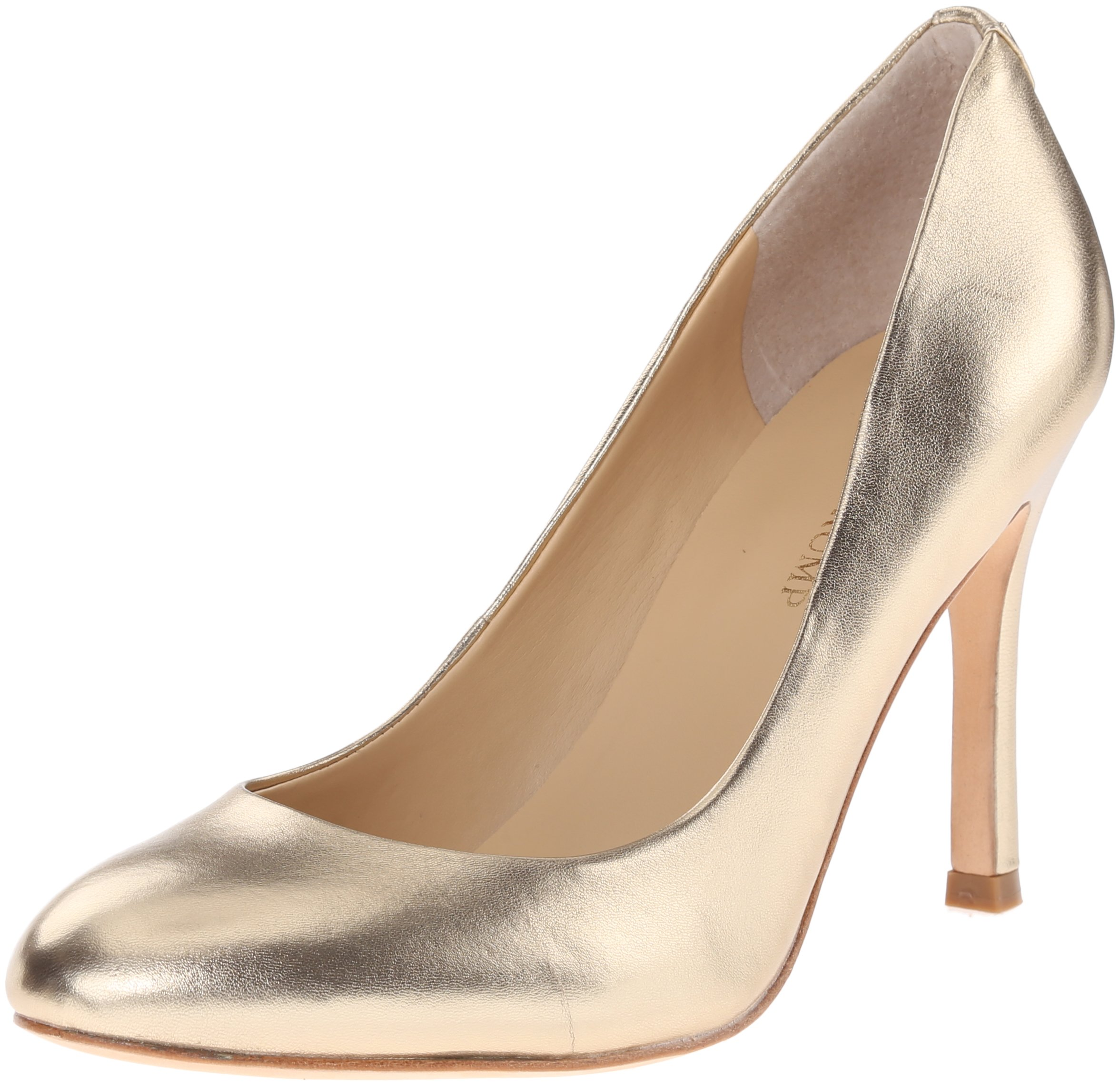 Ivanka Trump Women's Janie Dress Pump, Gold, 9 M US by Ivanka Trump