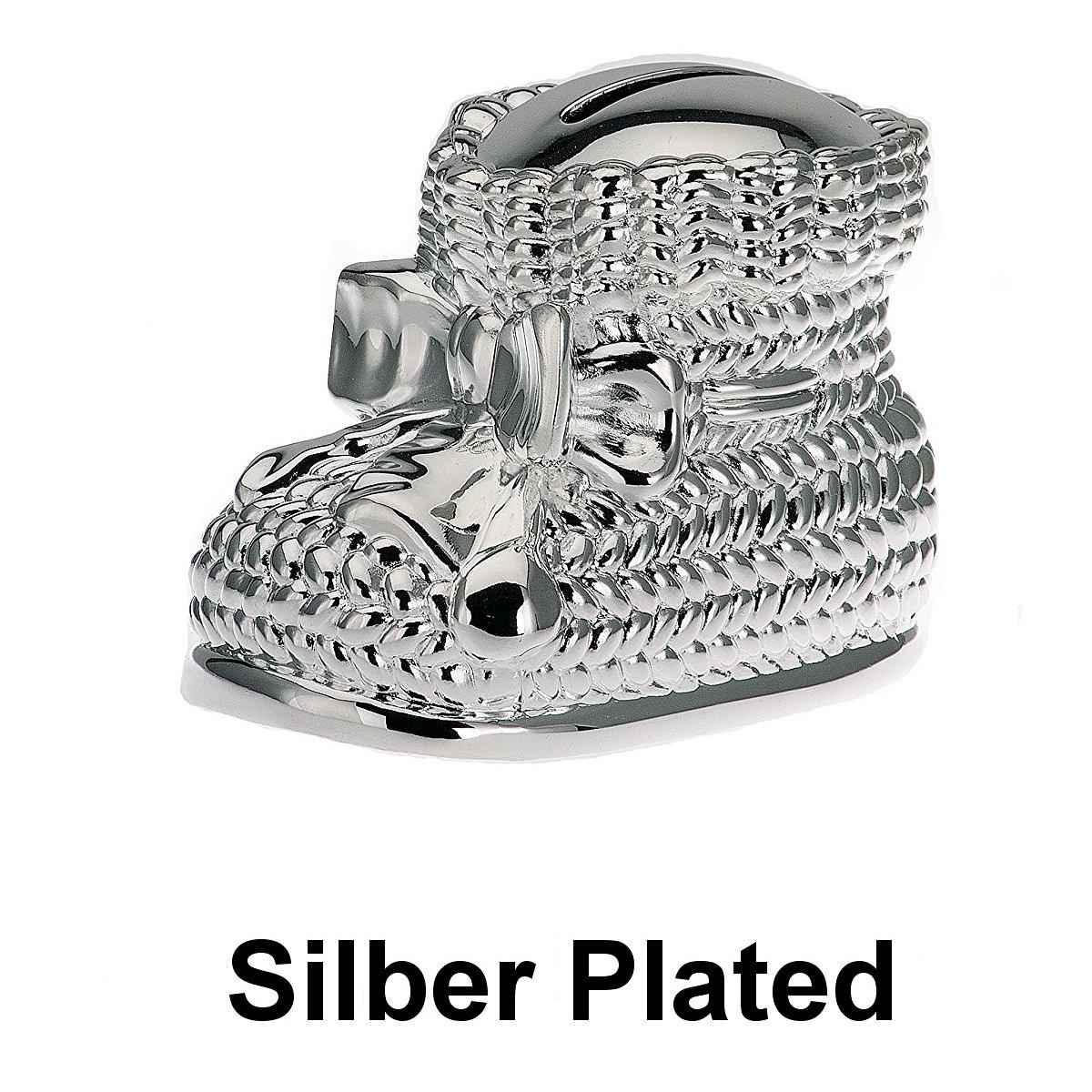 Spardose Schuh 10 cm Silber Plated versilbert in Top Verarbeitung