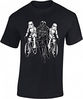 Camiseta de Bicileta: Star Bike - Regalo Ciclistas - Bici - BTT - MTB - BMX - Mountain-Bike - Downhill - Regalos Deporte - Camisetas Divertida-s - Ciclista - Retro - Fixie-Bike Shirt