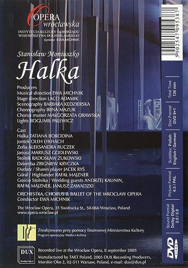 Amazon com: Halka: Moniuszko, Orch Chorus & Ballet Of