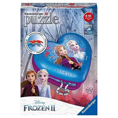 Ravensburger 12120 Disney Frozen 2, Heart Shaped 54pc 3D Jigsaw Puzzle,: Toys & Games