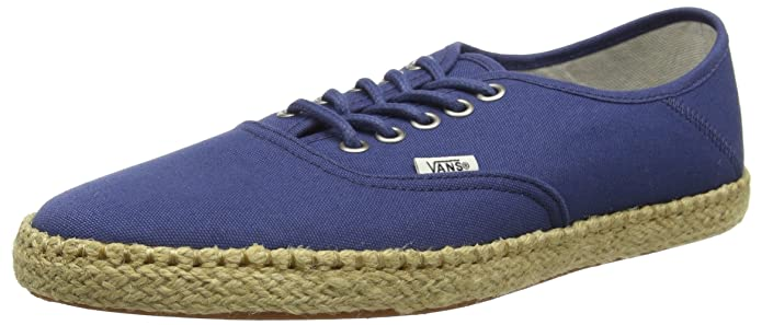 Vans Unisex Authentic Espandrillos Blau (Ensign Blue)
