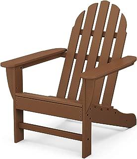 product image for POLYWOOD Classic Adirondack Adirondack Chair, Teak