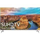 Samsung UN55KS8000 55-Inch 4K Ultra HD Smart LED TV (2016 Model, Certified Refurbished)