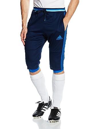 adidas Men Con16 3/4 Trousers - Blue/Maruni/Azul, X-