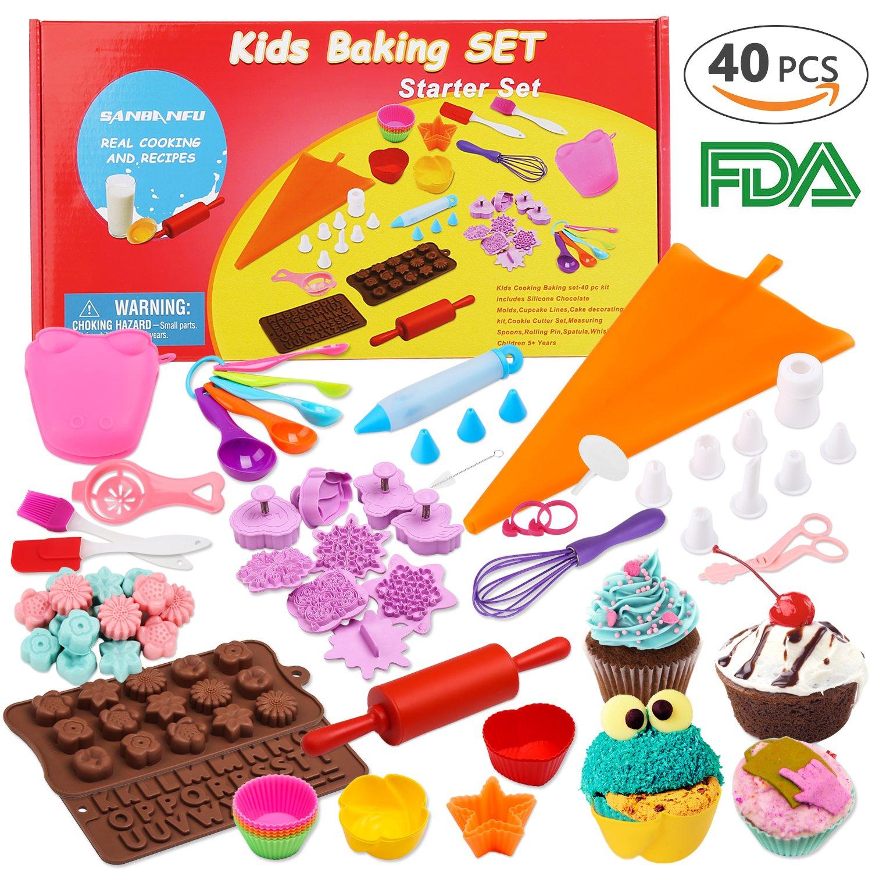 Amazoncom Kids Cooking Baking set Baking supplies Cupcake