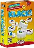 AMIGO 02765 Klack! - Juego de parejas con fichas magnéticas (instrucciones en alemán)