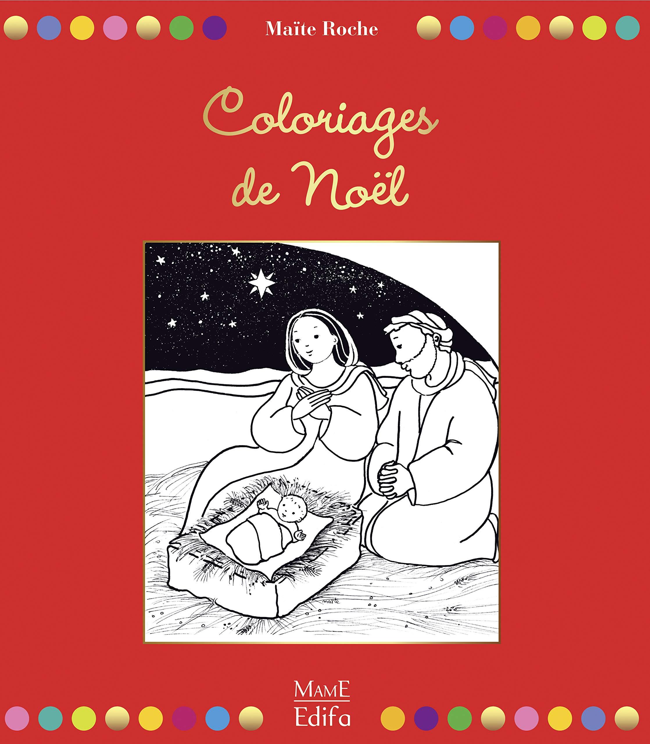 Coloriages de Noël (Mes coloriages magiques) (French Edition