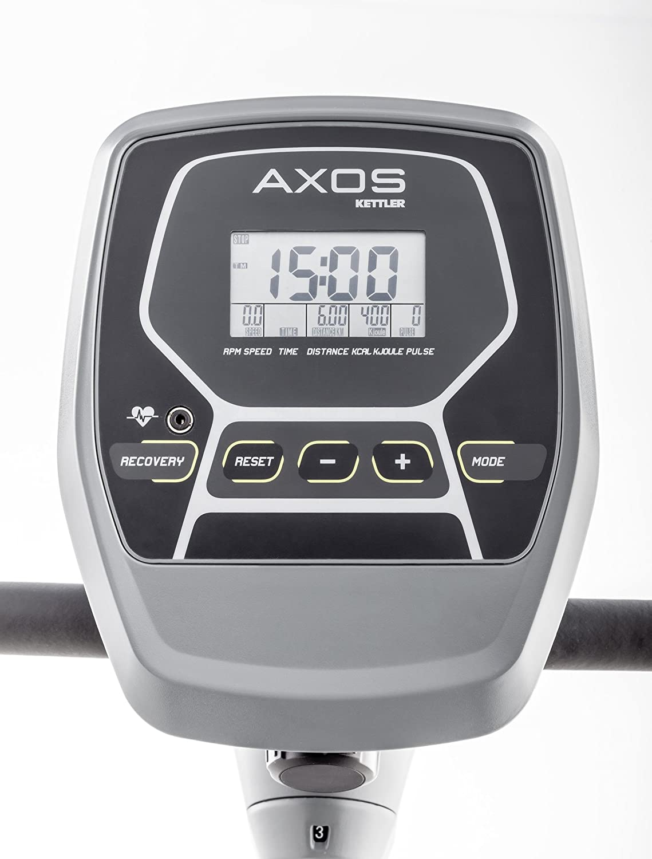 Kettler Cross Trainer Axos Cross M - Bicicleta estática con ordenador de entrenamiento, Pulso Cuchillos y masa 12 kg lanzamiento - cardiogerät para montaje ...