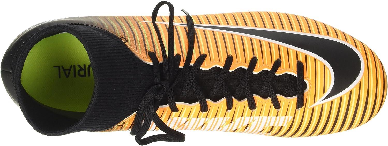 Nike Mercurial Victory VI DF FG, Chaussures de Football Homme Orange Laser Orange Black White Volt