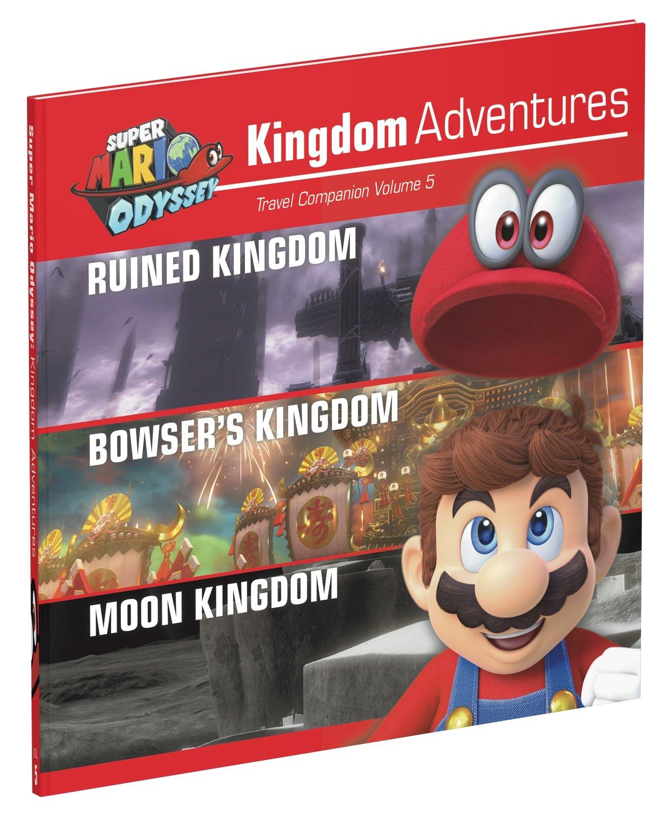 Super Mario Odyssey Kingdom Adventures Vol 5 Prima Games