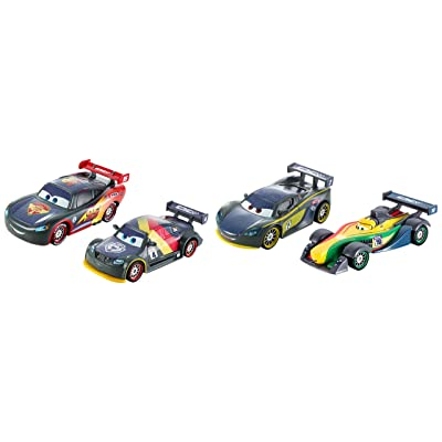 Disney/Pixar Cars Carbon Racers Carbon Speed (4 Pack): Toys & Games