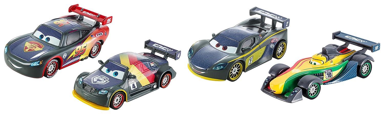 Cars - DHM95 - Coffret 4 Carbone Racers
