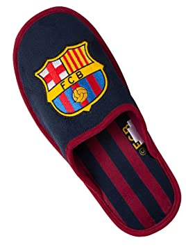 d08d57f4d0576 Fc Barcelone Chaussons Barca - Collection Officielle Taille Adulte Homme 37