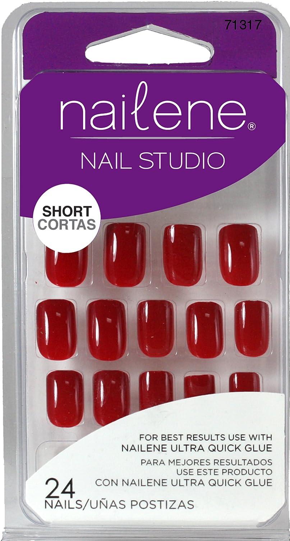 Nailene Nail Studio Red Nails: Amazon.co.uk: Beauty