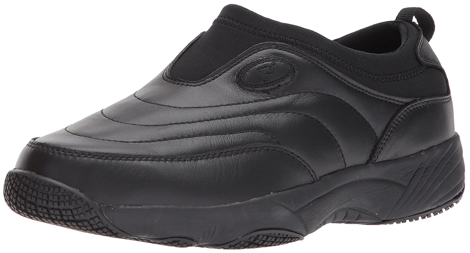 Propet Women's Wash N Wear Slip on Ll W Walking Shoe B06XRT4HDW 8 W Ll US|Sr Black 5886a6