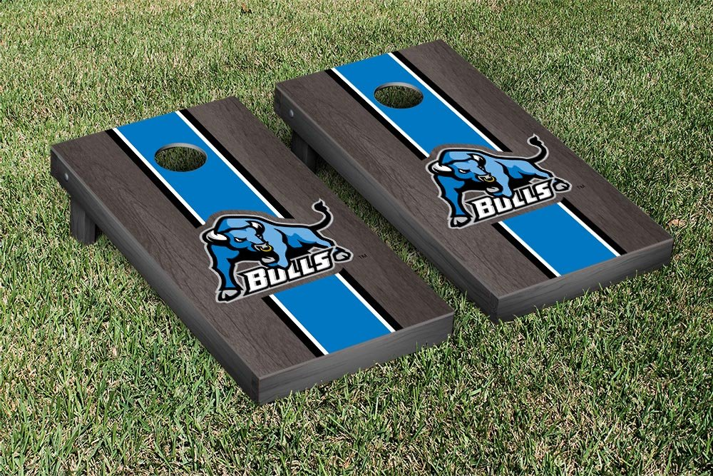 Buffalo Suny Bulls Cornhole Game Set オニキス 染色 ストライプ バージョン