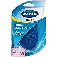 Dr. Scholls Comfort Heel Cushions for Women, 1 Pair, Size 6-10