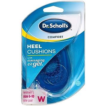 e1c5d9a17667 Amazon.com  Dr. Scholl s Massaging Gel Advanced HEEL CUSHIONS (Men s ...