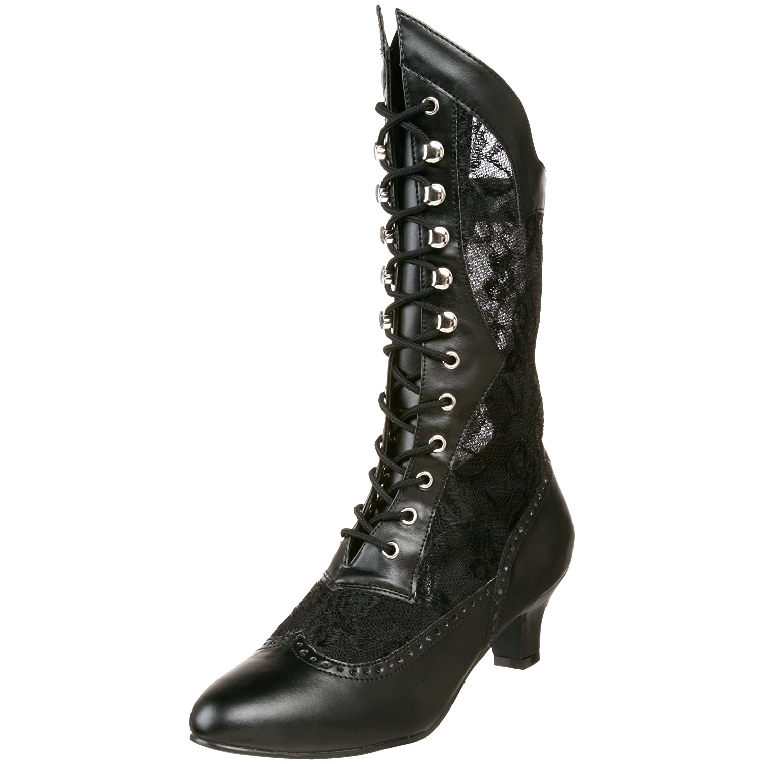 Steampunk Boots & Shoes, Heels & Flats Funtasma Dame115/B/Pu Women Warm Lining Ankle Boots £74.05 AT vintagedancer.com