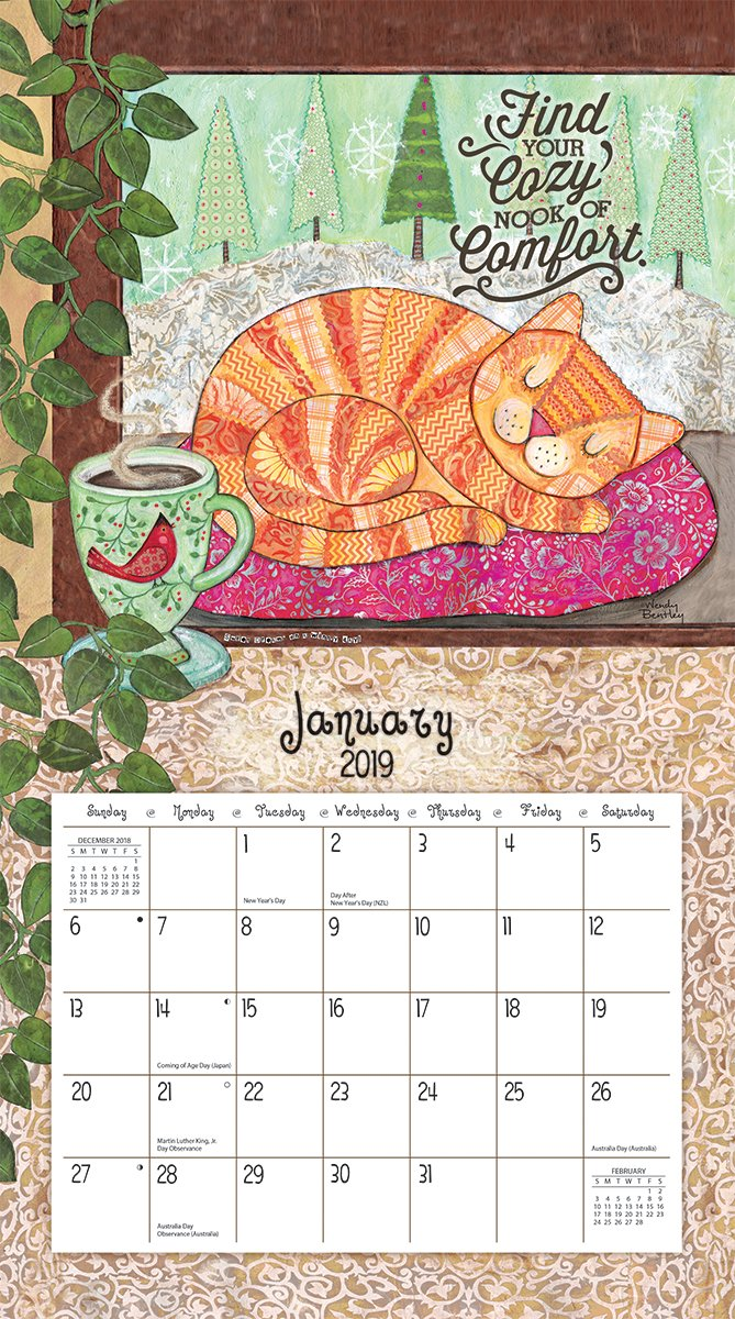 The Lang Companies Favorite Things 2019 Wall Calendar (19991001857) by The LANG Companies (Image #3)
