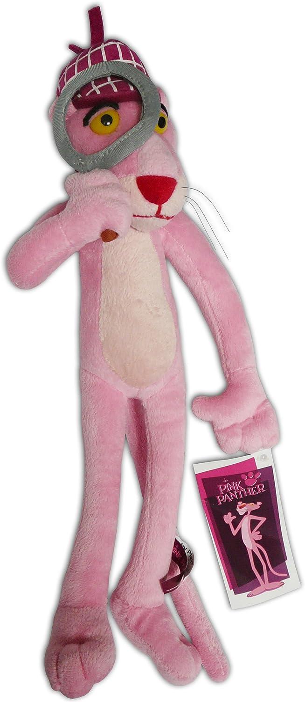 Peluche soft detective Pantera Rosa 41cm: Amazon.es: Juguetes y juegos