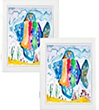 Amazon Com Child Artwork Frame Display Cabinet Frames