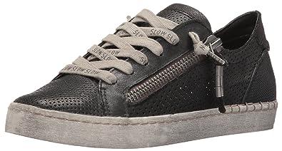 Dolce Vita Women's Zombie Fashion Sneaker, Black, ...