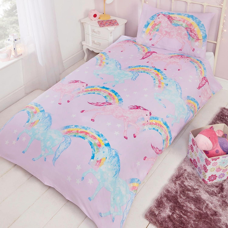Mystical Unicorns Junior Duvet Cover and Pillowcase Set Rapport