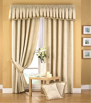 Victorian classic thick heavy traditional vintage jacquard curtain ...