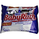 Baby Ruth Chocolate Bars, Fun Size, 11.5 oz
