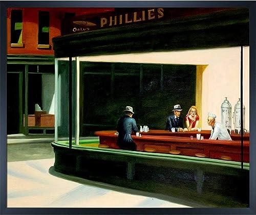 overstockArt Edward Hopper Night Hawks