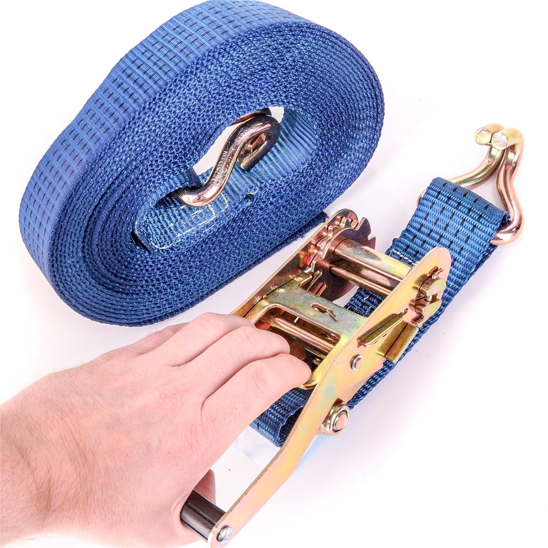 Ratchet Tie Down Strap Only 10metre x 50mm 5 Ton Trailer truck lashing