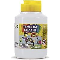Tempera Guache 250 ml, Acrilex, 020250519, Branco
