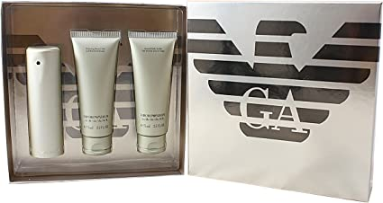 Giorgio Armani Emporio Lei regalo Set Femme/Woman, Eau de Parfum vaporisateur/Spray 50 ml, Gel de 75 ml, bodylotion 75 ml, 1er Pack (1 x 1 Juego): Amazon.es: Belleza
