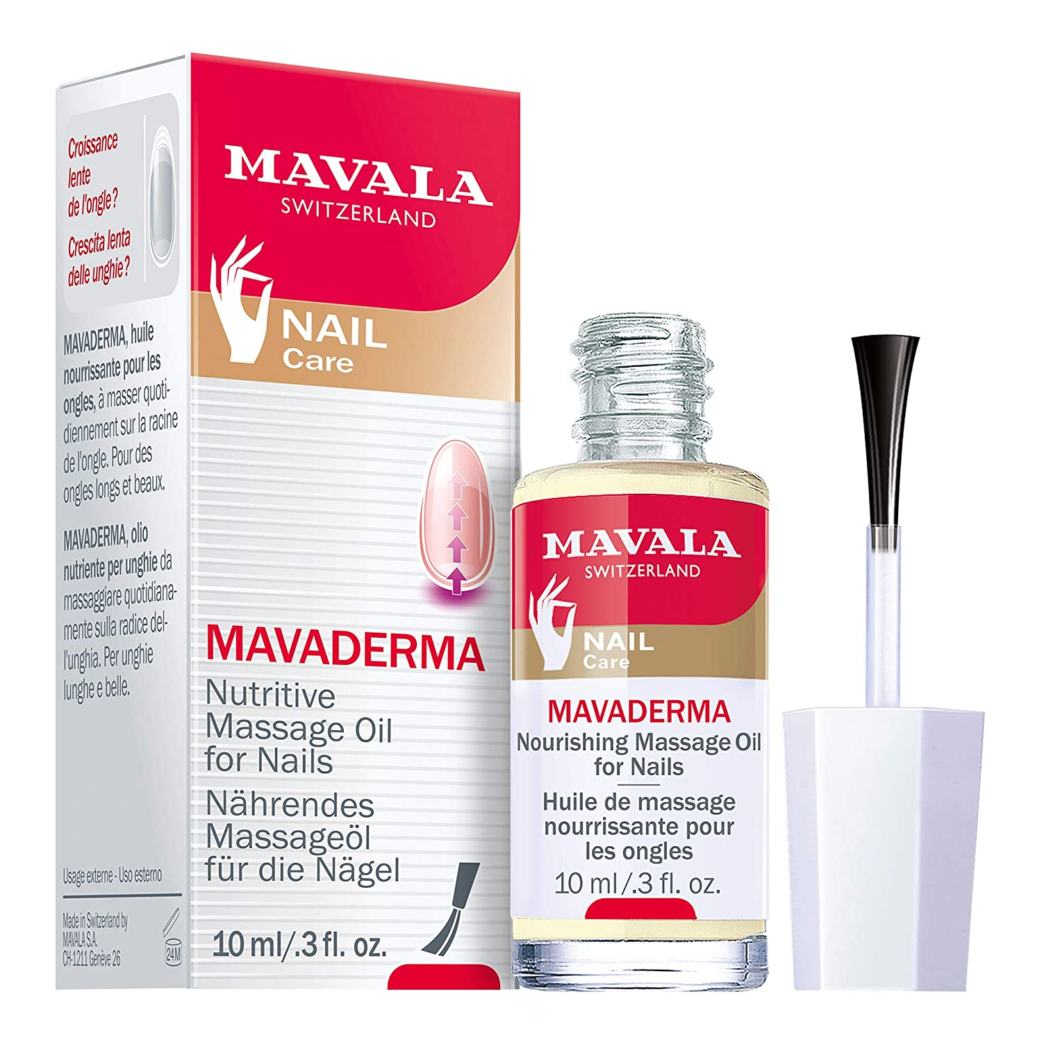 Mavala Mavaderma Treatment for Nail Growth 0.34 Ounces 90101