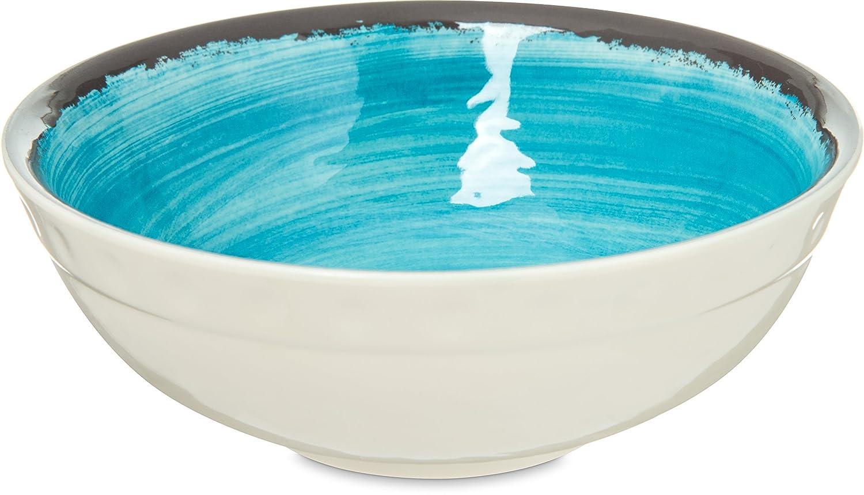 Carlisle 5400515 Mingle Melamine Small Bowl, 17 oz, Aqua