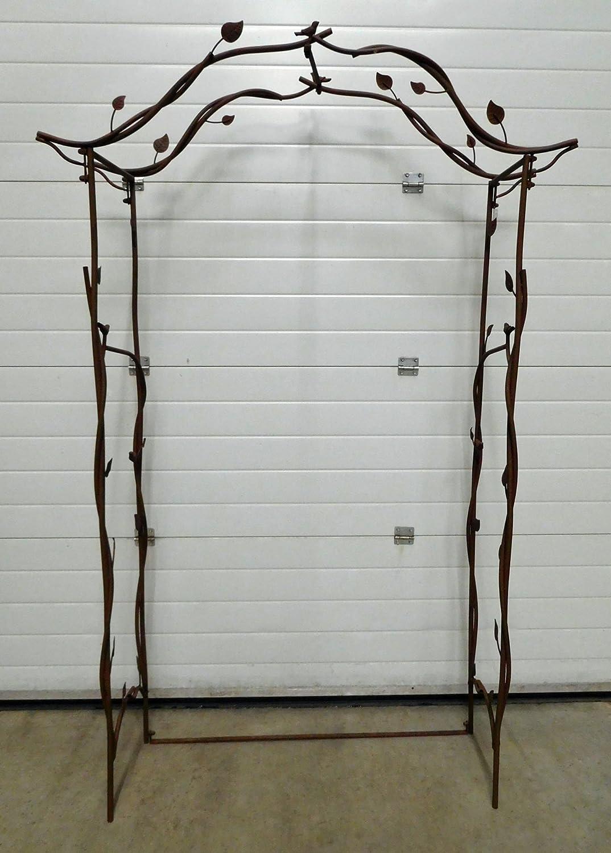 Rosenbogen Rankbogen Rundbogen Rankhilfe Torbogen Spalier Metall H 210 cm 140268