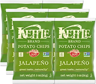product image for Kettle Brand Potato Chips, Jalapeno, 2 Oz (Pack of 6)