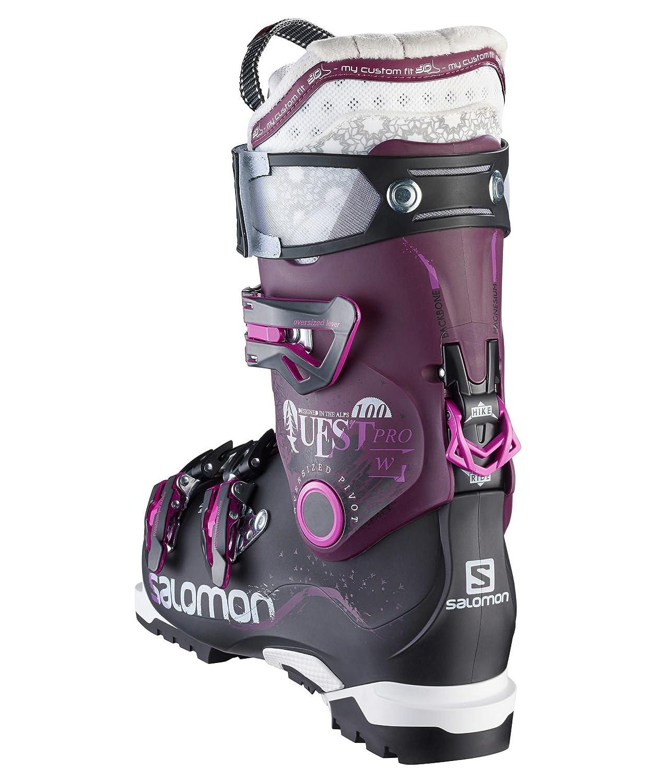 Salomon Damen Skischuhe Quest Pro 100 W schwarz 26,5